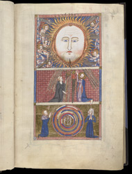 The Visions Of Sts. Benedict And Paul, In James Le Palmer's Encyclopaedia 'All Good Things'